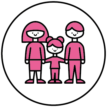 Icon for Social - Users Consumers and Citizens