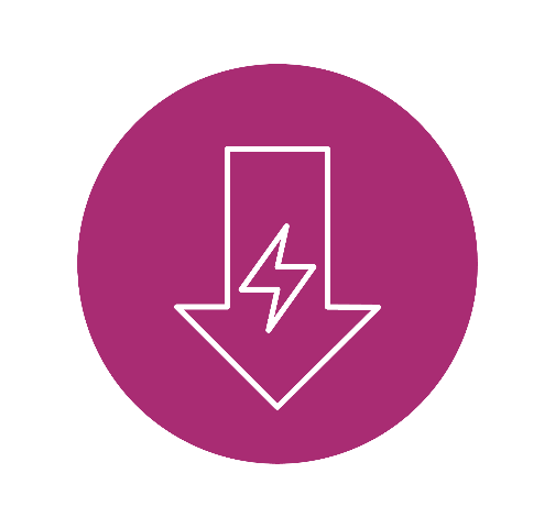 Icon for Reduced Energy Consumption